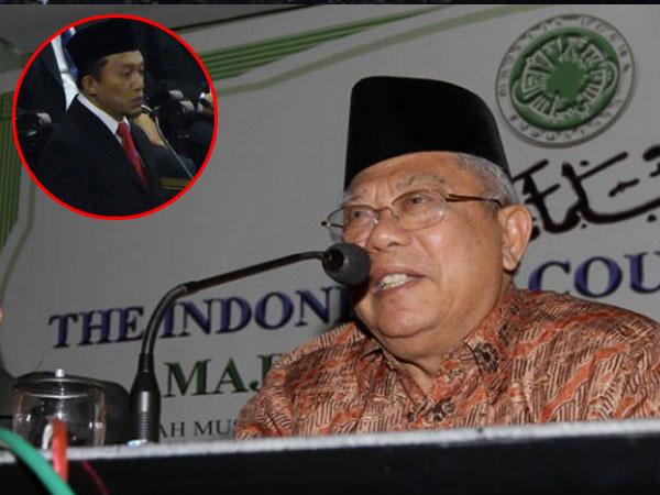 Ketua MUI Tanggapi Doa Tifatul 'Minta Jokowi Gemuk' di Sidang Tahunan MPR 2018
