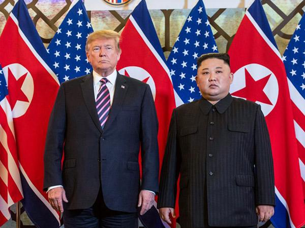 Pertemuan Kedua Kim Jong Un dan Donald Trump Berakhir Buntu