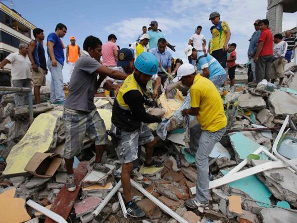 Terbesar dan Mematikan, Korban Tewan Gempa Ekuador Bertambah Drastis Jadi 200 Orang