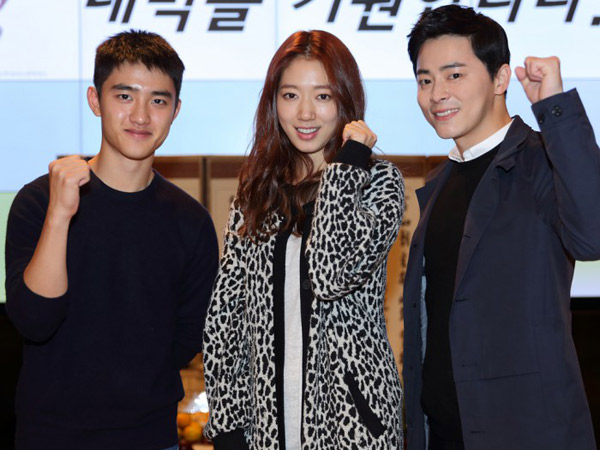 Rilis Poster, Film Terbaru D.O EXO, Jo Jung Suk, dan Park Shin Hye Siap Gebrak Layar Bioskop!