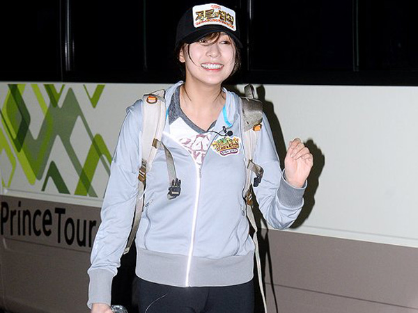 Duh, Hayoung A Pink Tersengat Kalajengking di 'Laws of the Jungle'!