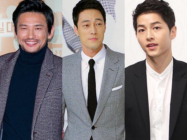 So Ji Sub, Song Joong Ki dan Hwang Jung Min Siap Berlaga Di Satu Proyek Layar Lebar!