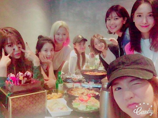 Rayakan Ultah Sunny dan YoonA, SNSD Akhirnya Berkumpul dengan Formasi Lengkap!