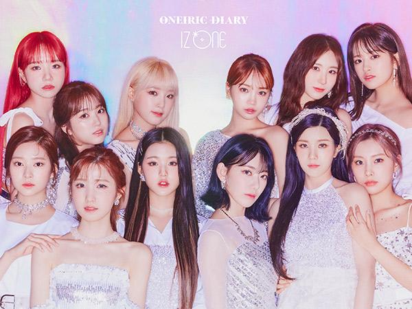 IZ*ONE Dominasi Chart Lewat Lagu Baru 'Secret Story of the Swan'