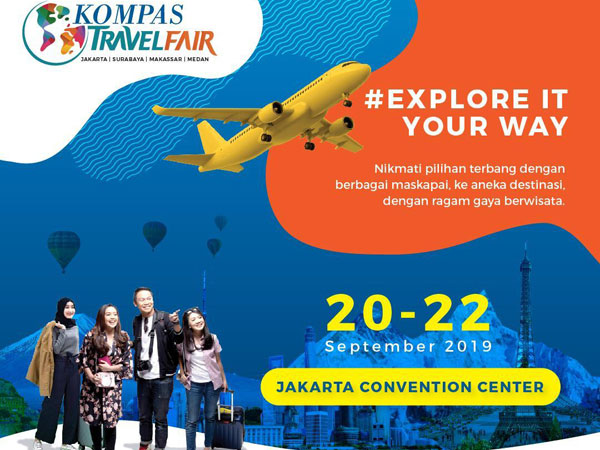 Berburu Promo Menarik Wisata Halal Hingga Domestik di Kompas Travel Fair 2019