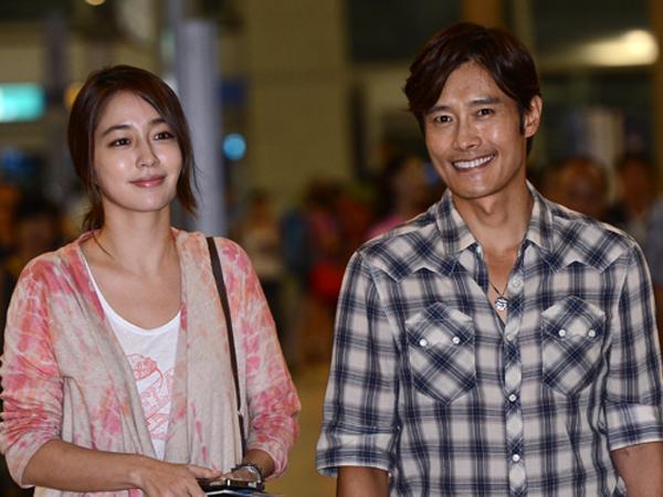 Pasangan Seleb Lee Byung Hun dan Lee Min Jung Resmi Jadi Orang Tua!