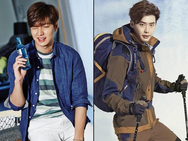 Wow, Netizen Cina Pilih Lee Min Ho dan Lee Jong Suk Sebagai '2015 Korea Brand Stars'!