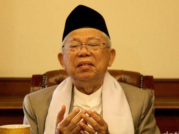 Cawapres Maruf Amin Mundur Dari Kursi Ketua MUI Lewat Whatsapp?