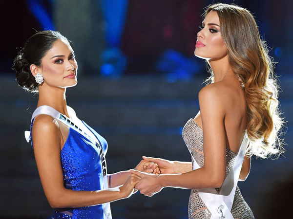 Miss Filipina dan Miss Kolombia Masih Belum Saling Tegur Pasca Final Miss Universe 2015