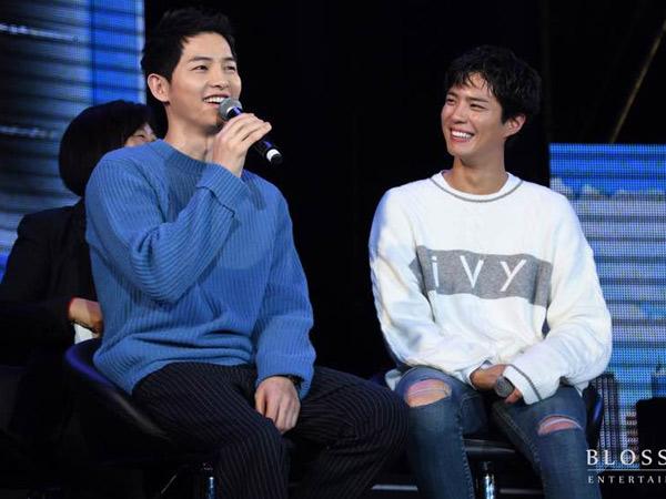Sempat Tertangkap Kamera, Ini Alasan Song Joong Ki Nangis Saat Park Bo Gum Dapat Penghargaan