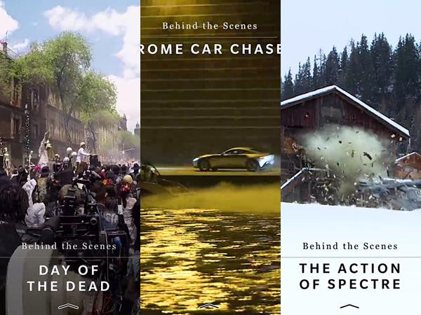 'Spectre' Bocorkan Behind The Scenes James Bond Via Snapchat