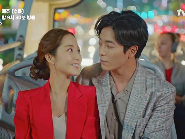 Kencan Malam di Seoul City Tour Bus Ala Kim Jae Wook dan Park Min Young 'Her Private Life'