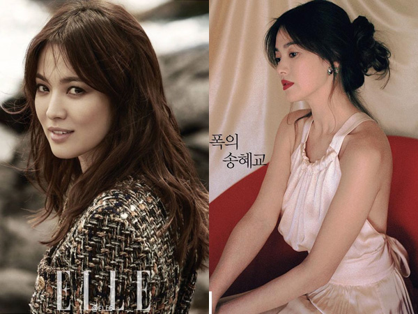 Song Hye Kyo Hiasi Pemotretan 3 Majalah Ini Sekaligus di Bulan Juni 2016!
