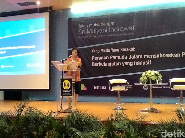 Sebelum Kembali Diangkat Jadi Menkeu, Sri Mulyani Beri Pidato Inspiratif untuk Generasi Muda