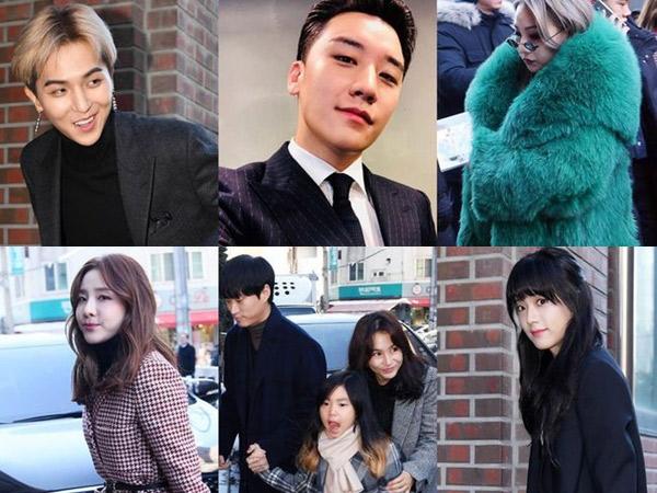 Sederet Selebriti Korea Hadir Jadi Saksi Pernikahan Taeyang dan Min Hyo Rin