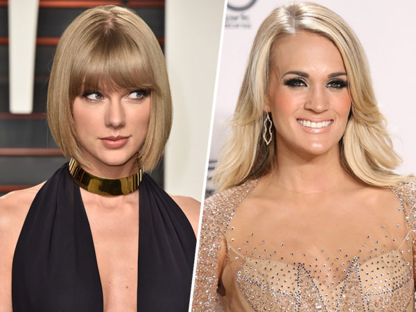 Taylor Swift dan Carrie Underwood Berseteru Gara-gara Calvin Harris?