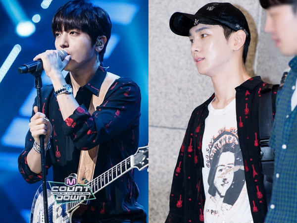 Kemeja Gitar Kembar Yonghwa CNBLUE vs Key SHINee, Who Wore It Better?
