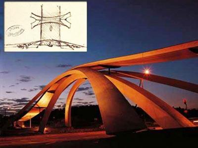 Wah, Desain Jembatan Leonardo Da Vinci Terealisasi 500 Tahun Kemudian