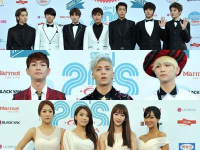 Infinite, SHINee, Sistar, dan Idola K-Pop Lainnya Raih Penghargaan di 20's Choice Awards!