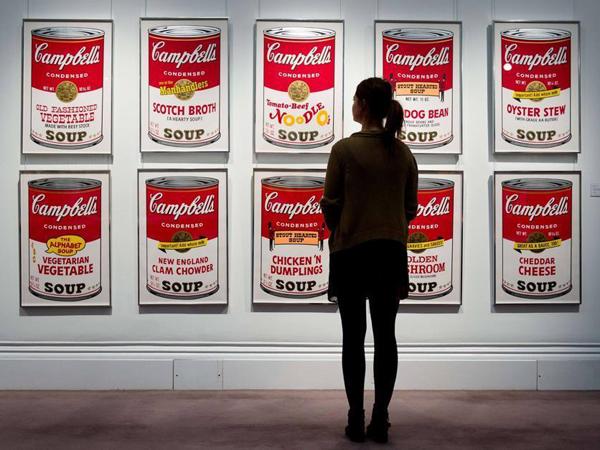 'Kaleng Sup' Senilai Rp 6,5 Miliar Karya Andy Warhol Hilang Dicuri