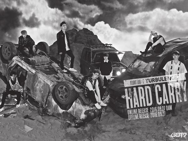 Tambah Daftar Comeback, GOT7 Tampil Manly dan Powerful di MV 'Hard Carry'!