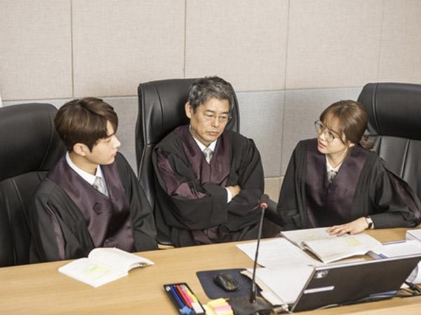 Intip Tingkah Go Ara Hingga L Infinite Jadi Pengacara Kocak di Teaser Drama 'Miss Hammurabi'