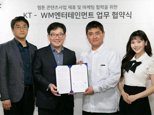 WM Entertainment Siap Tayangkan Webtoon B1A4, Oh My Girl, Hingga ONF
