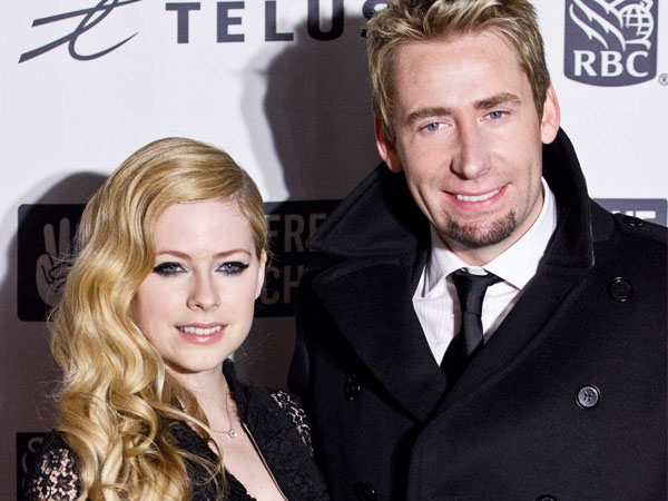 Dua Tahun Menikah, Avril Lavigne dan Chad Kroeger Putuskan Bercerai