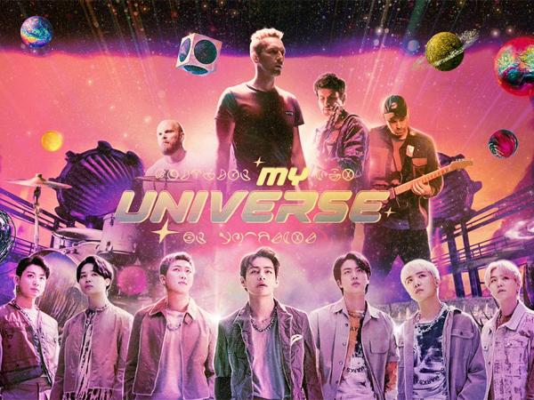 Coldplay dan BTS Bersatu di Semesta yang Sama dalam MV Sinematik 'My Universe'