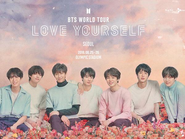 Siap Kembali Sapa Fans di Seluruh Dunia, BTS Umumkan Tujuan Tur Konser di 2018