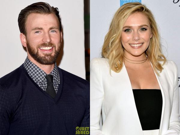 Cinta Lokasi, Diam-diam Chris Evans Pacari Elizabeth Olsen!