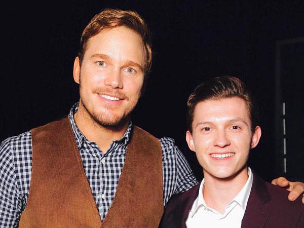 Chris Pratt Akui Tahu Jalan Cerita 'Jurassic World: Fallen Kingdom' Justru dari Tom Holland!