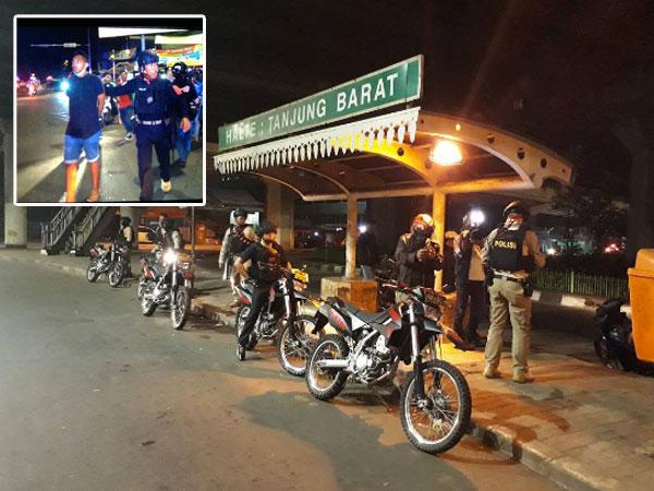 Anggota Geng Motor di Depok Berhasil Ditangkap Tim Jaguar