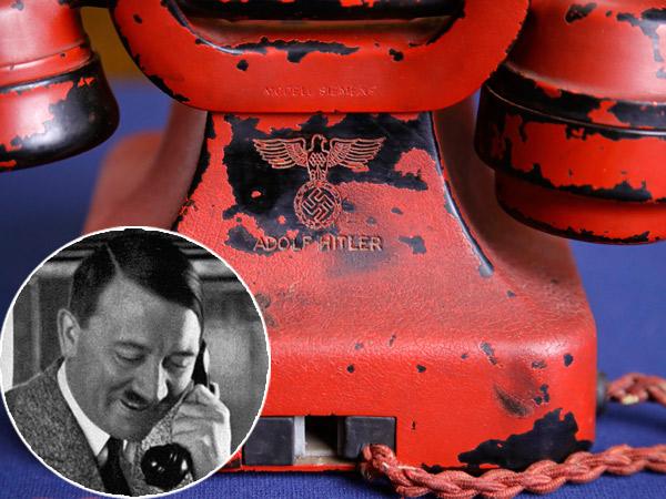 Jadi 'Senjata Pemusnah Massal', Telepon 'Bekas' Hitler Berhasil Dilelang Dengan Harga Miliaran!