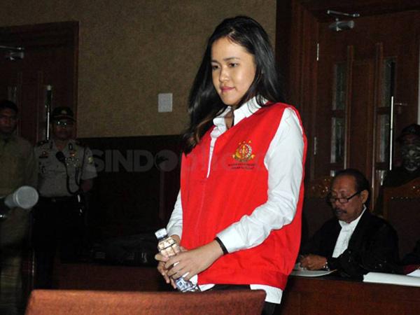 Hari Ini Jessica Ajukan Nota Pembelaan Terkait Tuntunan 20 Tahun Penjara