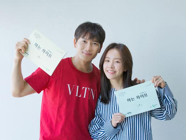 Ji Sung dan Han Ji Min Tampilkan Chemistry Suami-Istri dalam Diskusi Naskah Drama Baru tvN