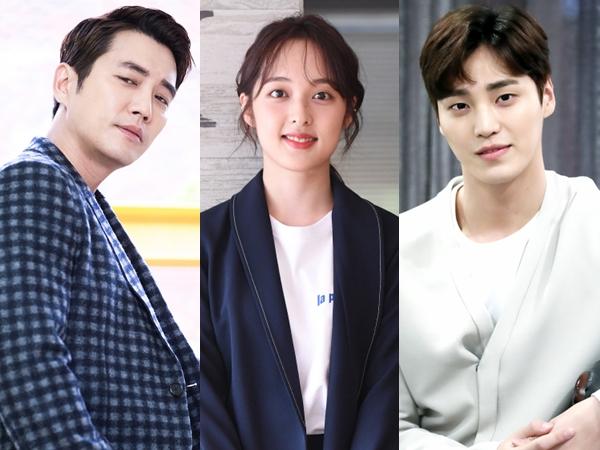 Joo Sang Wook, Kim Bo Ra, Lee Tae Hwan Dikonfirmasi Bintangi Drama Rom-Com