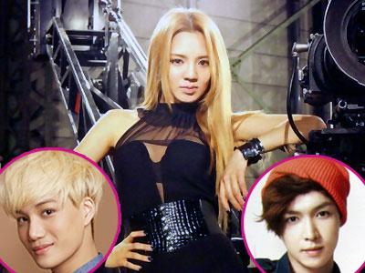 Hyoyeon SNSD Rekrut Kai & Lay EXO Untuk Tampil di 'Dancing 9'