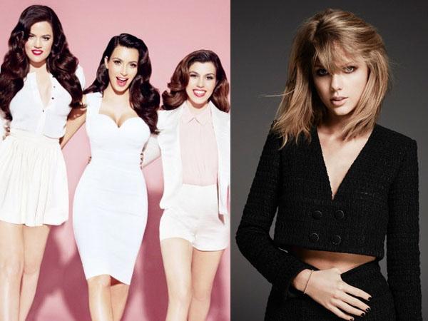 Selamat Tahun Baru! Dari Kardashians Hingga Taylor Swift, Inilah Cara Selebriti Hollywood Menyambut 2016