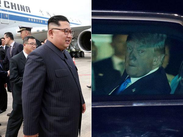 Touch Down! Momen Trump-Kim Jong Un Mendarat di Singapura untuk Pertemuan bersejarah