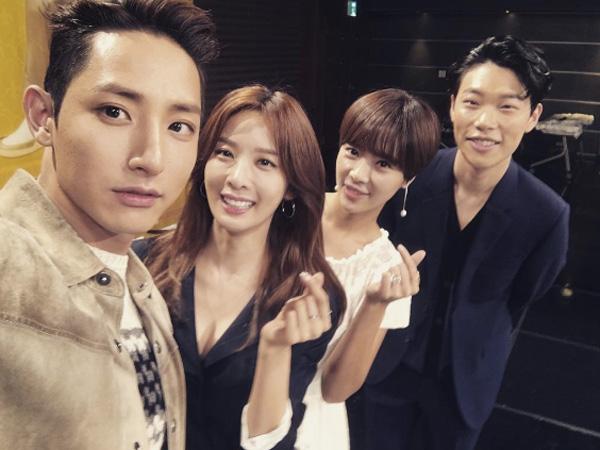 Rayakan Penayangan Perdana, Para Bintang 'Lucky Romance' Akrab di Sesi Makan Malam!