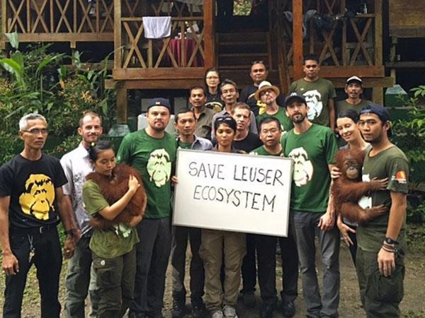 Aksi Leonardo DiCaprio Selamatkan Lingkungan di Aceh Tuai Kontroversi