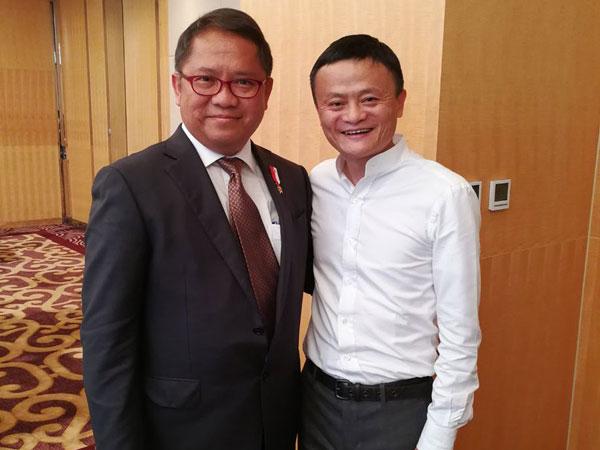 Bos Alibaba Jack Ma Resmi Jadi Penasihat e-Commerce Indonesia