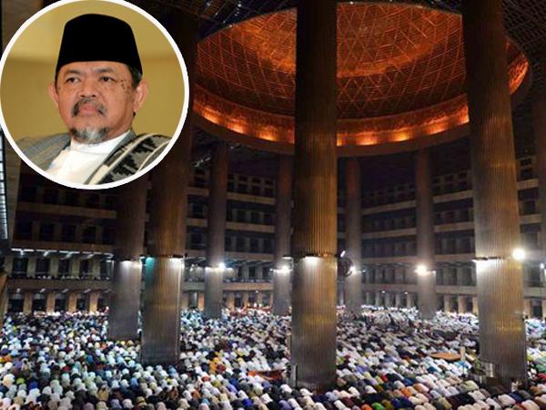 Sempat Jadi Tuan Rumah Sambut Obama, Mantan Imam Besar Masjid Istiqlal Meninggal Dunia