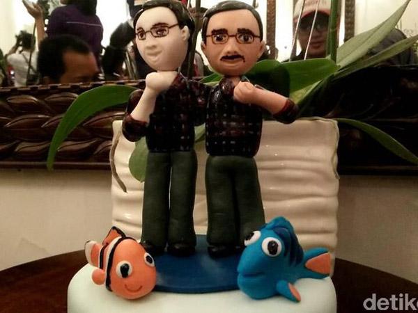Dapat Kue Menggemaskan, Ini Arti Kisah 'Ikan Nemo' dari Sidang Pledoi Ahok