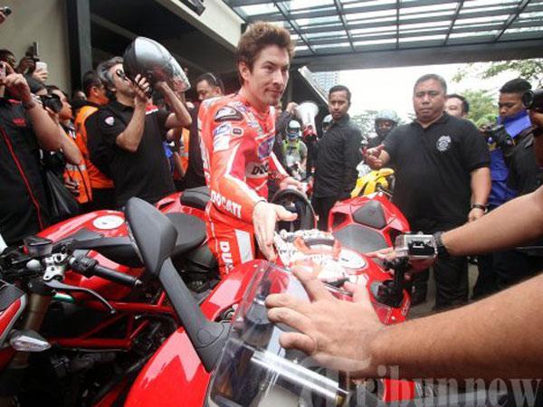 Dua Kali Kunjungan Jadi Kenangan Terakhir yang Ditinggalkan Nicky Hayden untuk Jakarta
