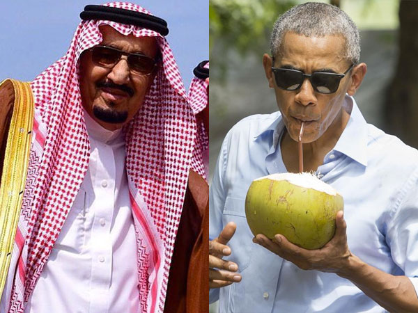 Begini Perbedaan Perlakukan Saat Raja Salman dan Obama Datang ke Bali