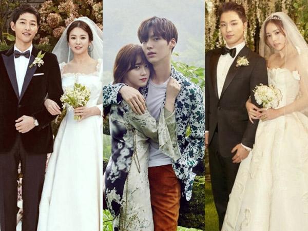 Inilah Sederet Pasangan Seleb Korea yang Paling Direstuin Publik, Couple Goals Nih!