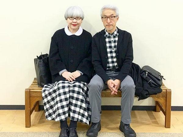 So Sweet! Pasangan Suami Istri Ini Kompak Kenakan Pakaian yang Sama Selama 37 Tahun