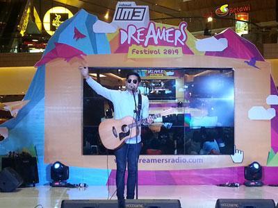 Penyanyi Paling Hits di Indonesia Ikut Hibur Pengunjung IM3 Dreamers Festival 2014